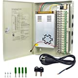 Ares Vision CCTV/LED 12v DC Power Supply Box 18 Port 30AMP