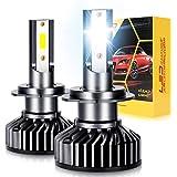 OPP ULITE H7 LED Headlight Bulbs Canbus Error Free Conversion Kit 6000K White 48W 10000LM EMC System Fog Light Car Replacemen