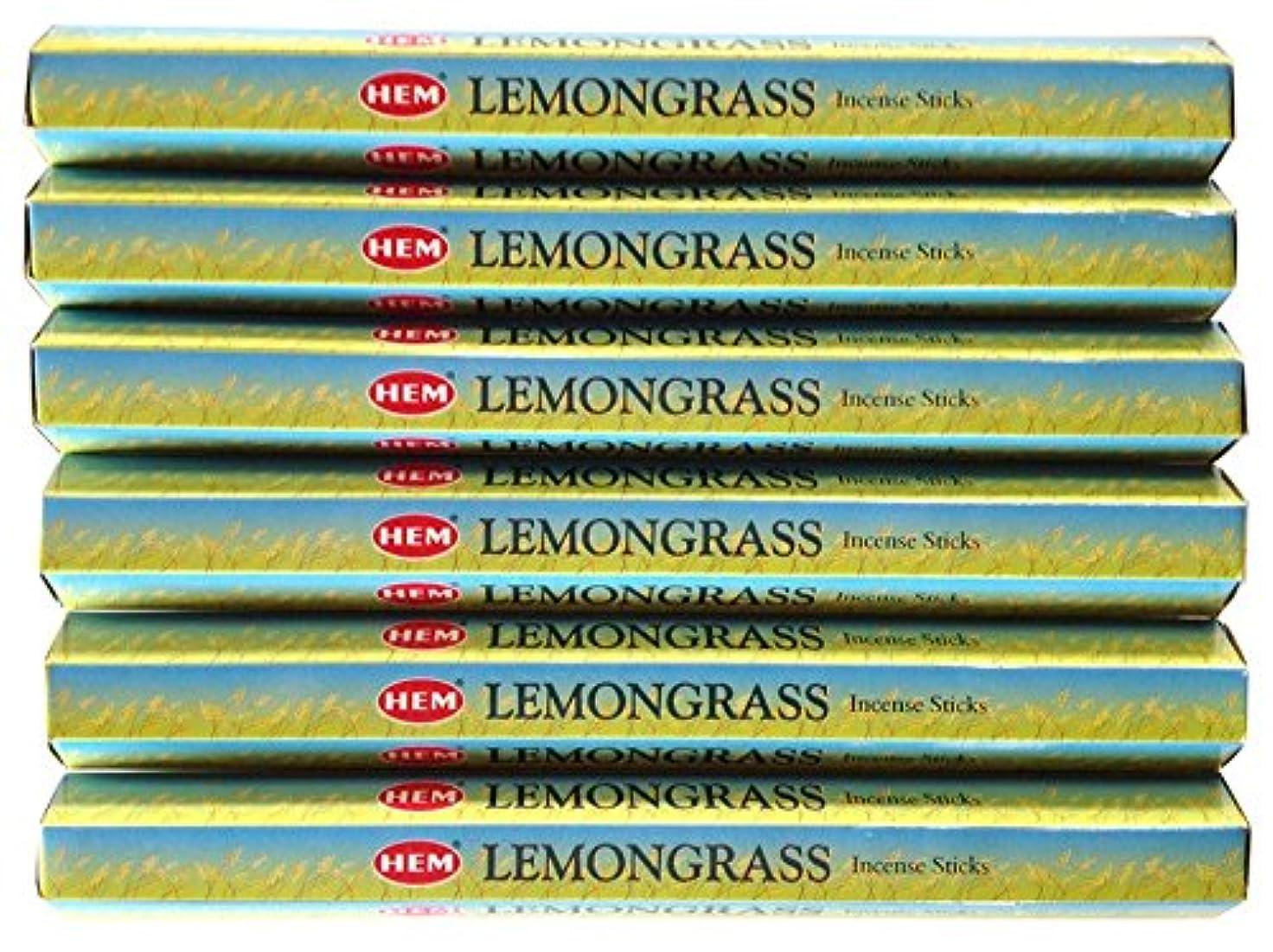 通行人階何十人もHEM レモングラス 6個セット