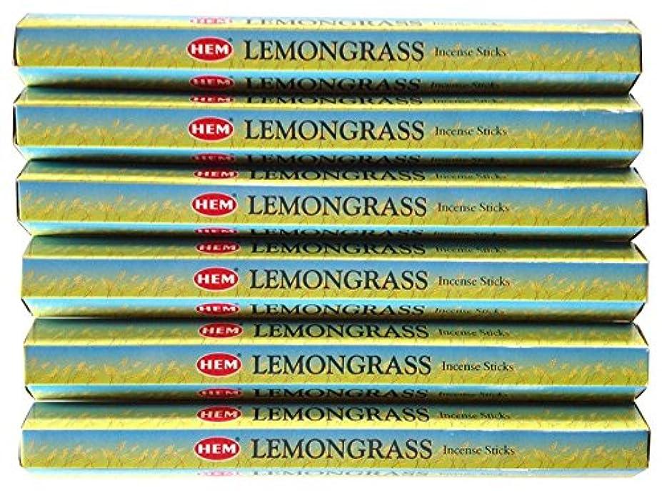 日付付き貫通する膨らみHEM レモングラス 6個セット