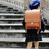 LOWYA (ロウヤ) ランドセル 男子 女子 日本製 半被せ 6年間保証 カザマランドセル A4対応 クラシカルキャメル 入学祝い 新入学 新生活