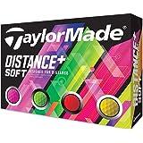 テーラーメイド(TAYLOR MADE) ゴルフボール DISTANCE DISTANCE+SOFT 12P メンズ M…