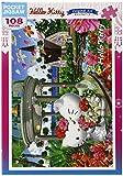 108ピース ジグソーパズル ハローキティ ハワイアンウエディング マイクロピース(10x14.7cm)