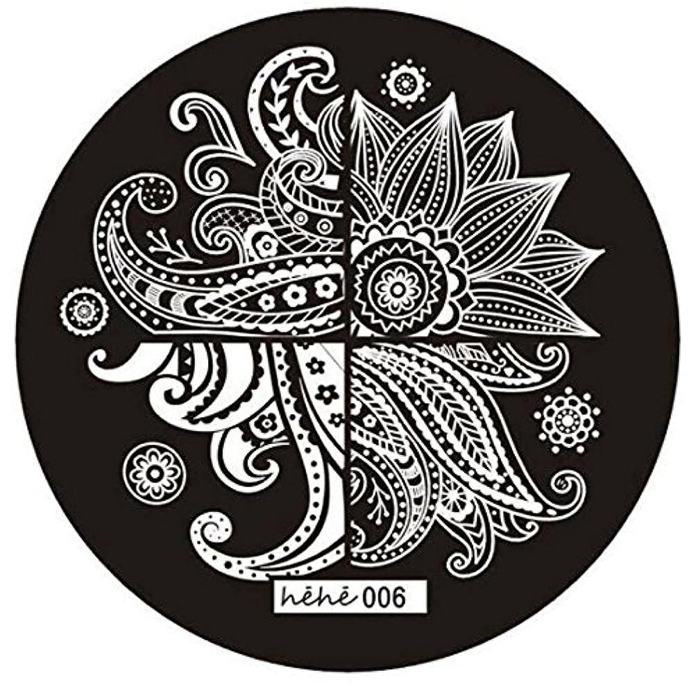 シェルターにぎやかブロックRETYLY 女の子のネイルアートパターンのイメージスタンプ プレートテンプレートマニキュア006