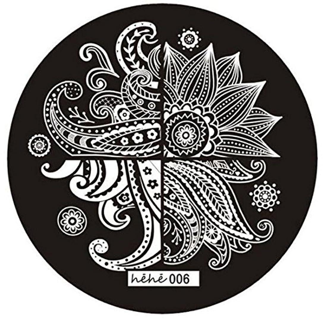 流出ヨーグルトダウンタウンSODIAL 女の子のネイルアートパターンのイメージスタンプ プレートテンプレートマニキュア006