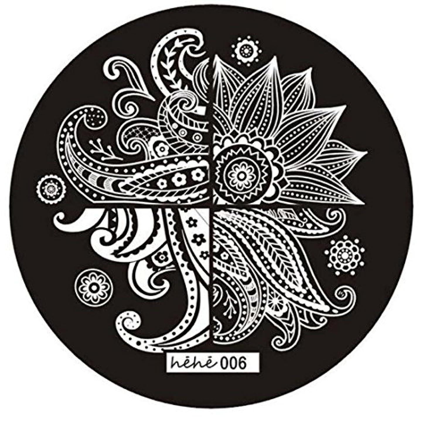 間隔野心スライスACAMPTAR 女の子のネイルアートパターンのイメージスタンプ プレートテンプレートマニキュア006