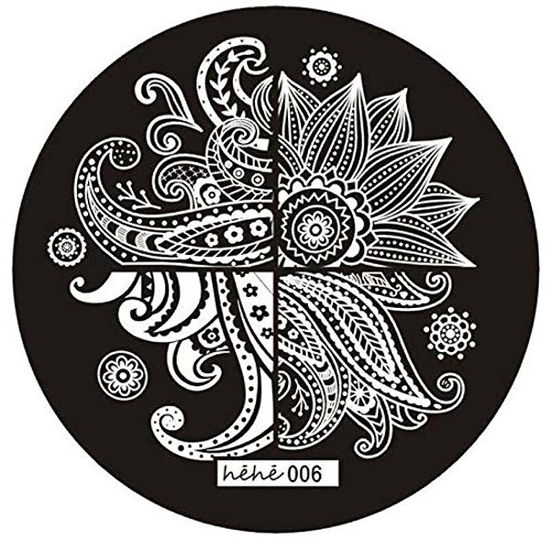 従事した罰するブラストSODIAL 女の子のネイルアートパターンのイメージスタンプ プレートテンプレートマニキュア006