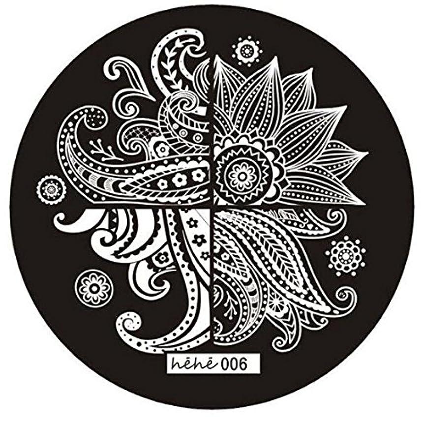 代名詞コードレス実り多いACAMPTAR 女の子のネイルアートパターンのイメージスタンプ プレートテンプレートマニキュア006