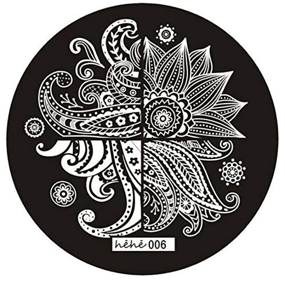 圧倒的複数祭司ACAMPTAR 女の子のネイルアートパターンのイメージスタンプ プレートテンプレートマニキュア006