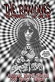 "Ramones , The Runaways At The Masonic Temple Theatre 1975コンサート13"" x 19"" ready for表示、フラット、袋詰め付属し、Boarded by Grande Ballroomアーティストポスターカール・ラングレンPrinted in Detroit MI USA"