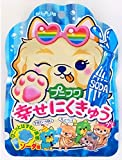 扇雀飴 プニフワ幸せにくきゅうグミソーダ味 30g×6袋