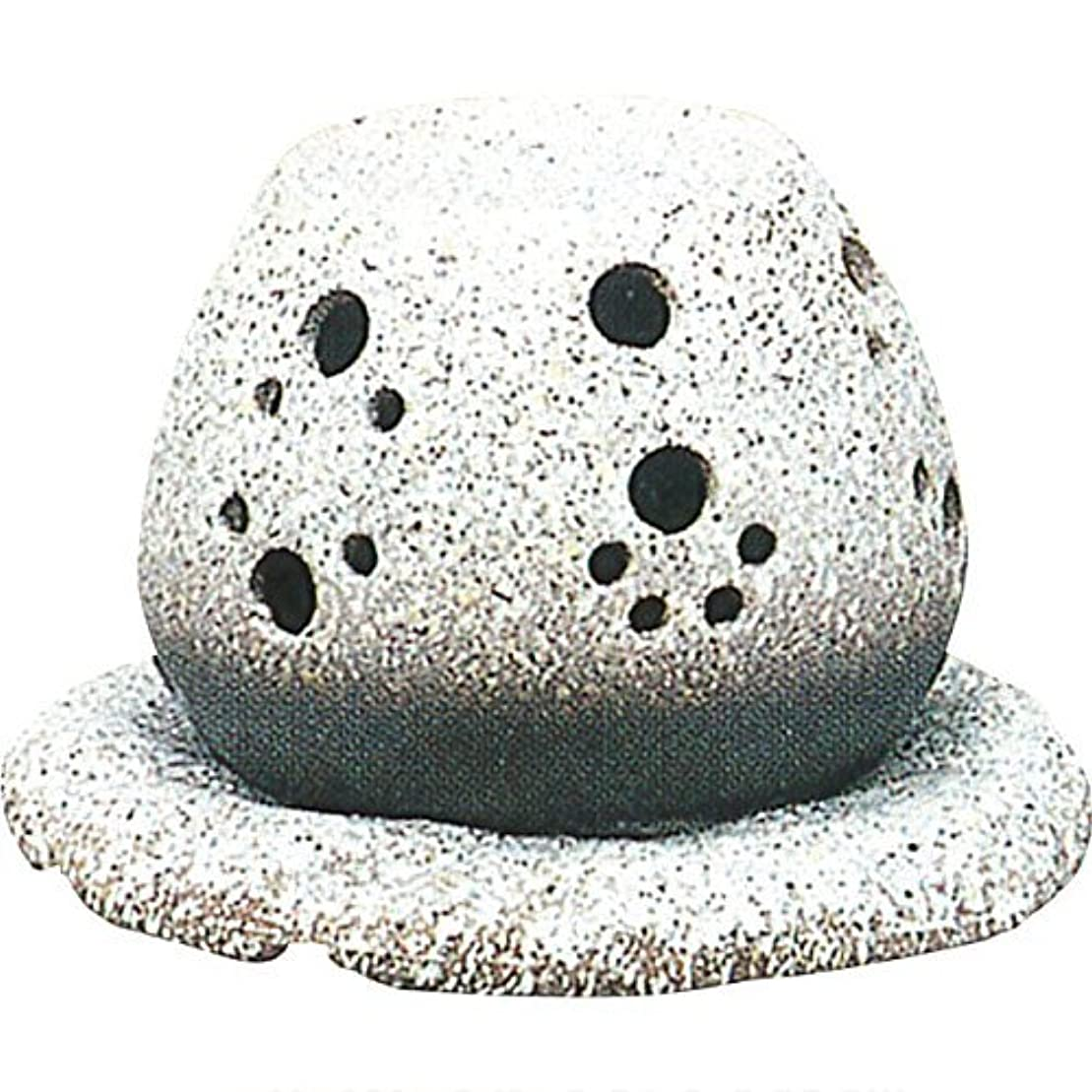 遵守する他に急ぐ常滑焼 ?40-05 茶香炉山房窯  白皿付    14.5×15.5×10