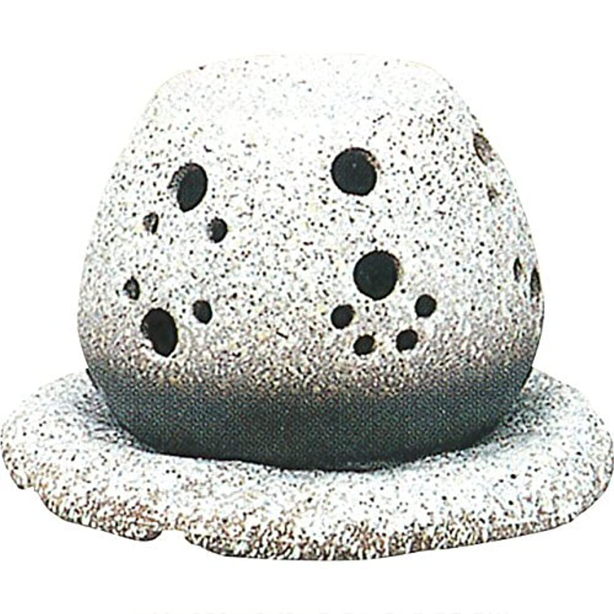 移植黙認する日常滑焼?山房 カ40-05 茶香炉 約14.5×15.5×10cm