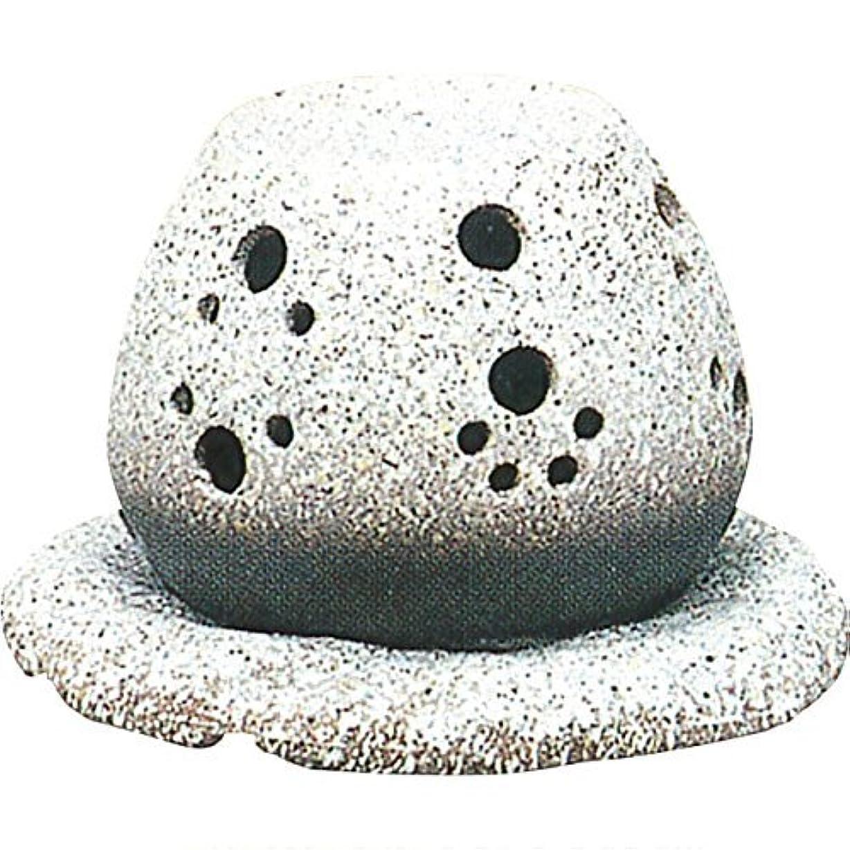 終わりレプリカフレキシブル常滑焼 ?40-05 茶香炉山房窯  白皿付    14.5×15.5×10