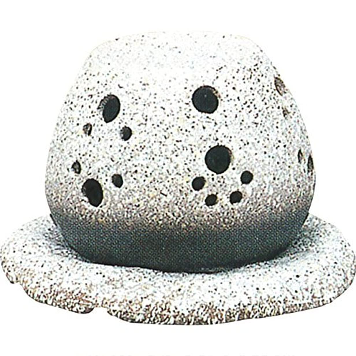 微弱個性キャッシュ常滑焼 ?40-05 茶香炉山房窯  白皿付    14.5×15.5×10
