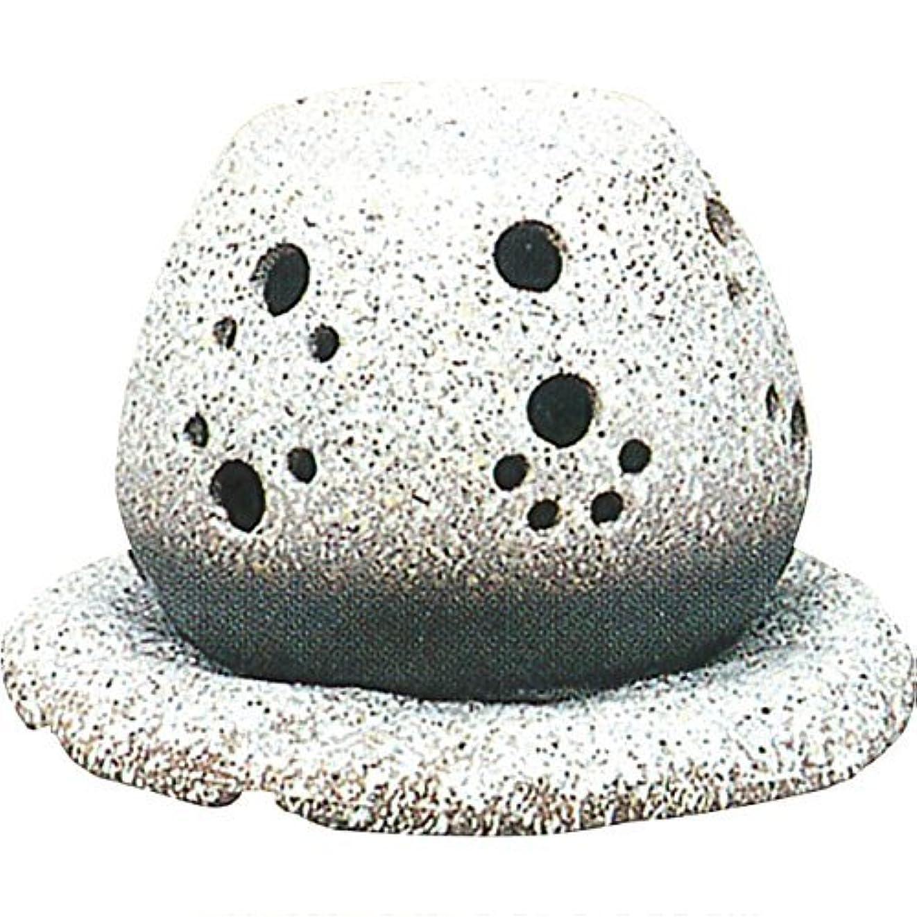 許容できる並外れた腐敗した常滑焼?山房 カ40-05 茶香炉 約14.5×15.5×10cm