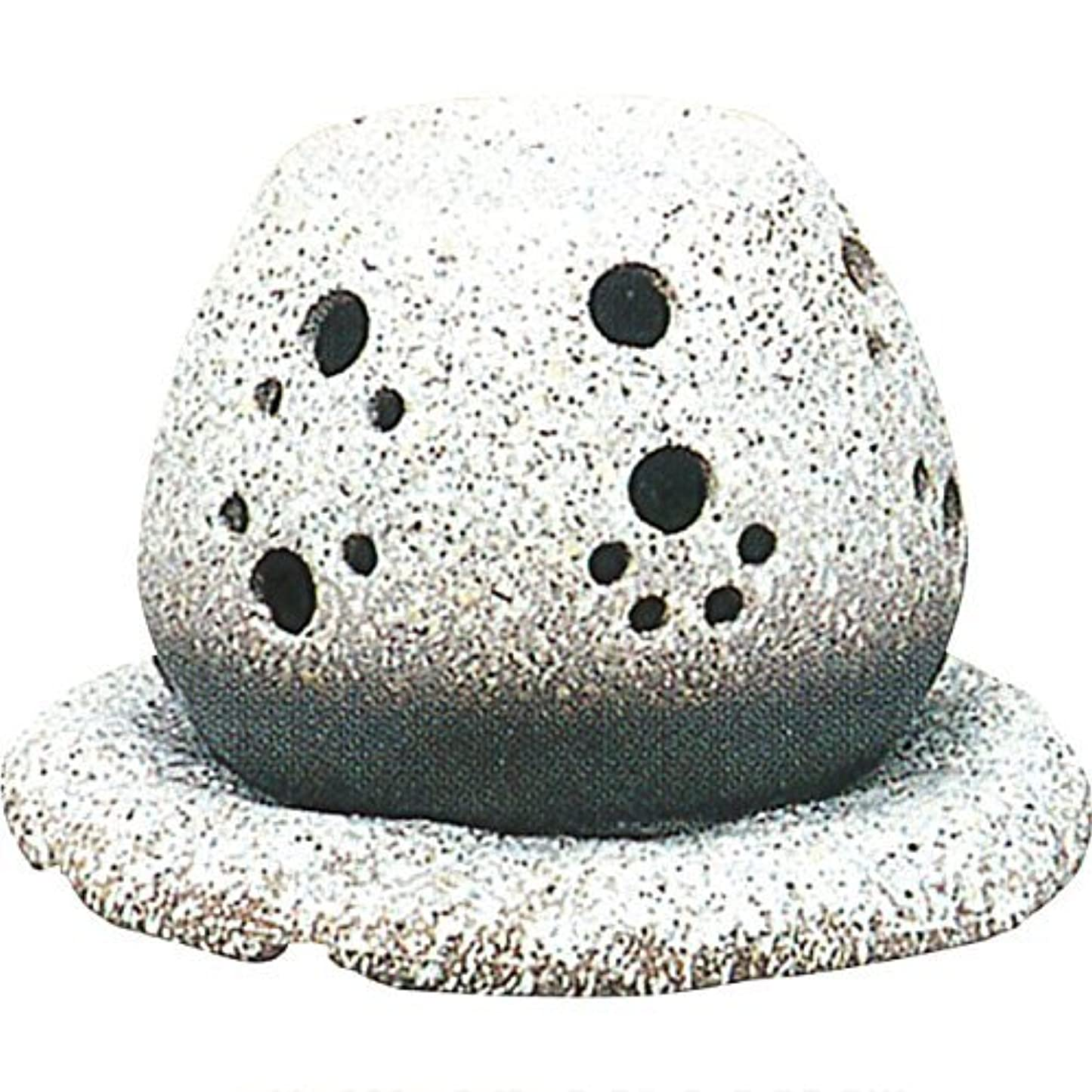 スーダン動詞オッズ常滑焼 ?40-05 茶香炉山房窯  白皿付    14.5×15.5×10