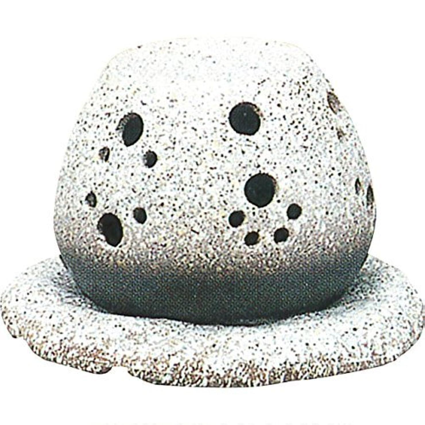 金曜日右分注する常滑焼?山房 カ40-05 茶香炉 約14.5×15.5×10cm