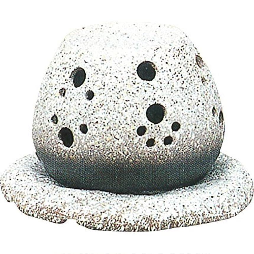 振動させる爆発するスコットランド人常滑焼?山房 カ40-05 茶香炉 約14.5×15.5×10cm