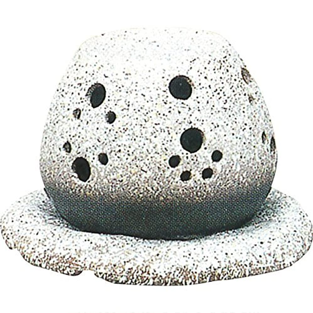 志す光記念品常滑焼?山房 カ40-05 茶香炉 約14.5×15.5×10cm