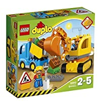 LEGO (LEGO) Duplo Duplo R of the city track and excavator 10812
