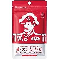 森下仁丹 鼻・のど甜茶飴 38g×1袋 のど飴 ノンシュガー メントール