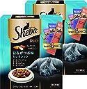 シーバ (Sheba) デュオ 成猫用 旨みがつお味セレクション 240g(20g×12袋入り)×2個セット キャットフード ドライ