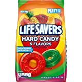 LIFE SAVERS Hard Candy 5 Flavors, 50-Ounce Party Size Bag