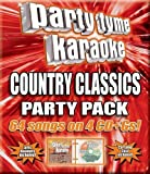 Party Tyme Karaoke - Country Classics Party Pack (64-song Party Pack) [4 CD] by Party Tyme Karaoke (2006-05-03)