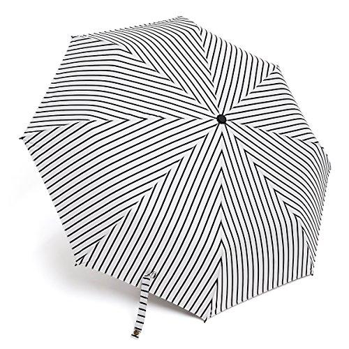 DankS 折りたたみ傘 ストライプ柄 晴雨兼用 UVカット...