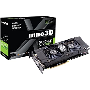 INNO3D NVIDIA GeForce1080 GPU搭載ビデオカード N1080-1SDN-P6DN