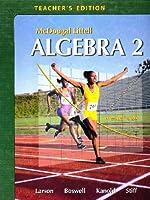 McDougal-Littell Algebra 2 Teacher's Edition
