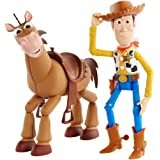 Toy Story 4 Figure Woody and Bullseye Multi