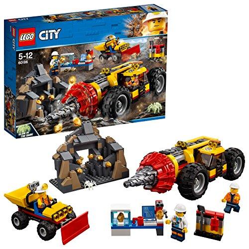 レゴ(LEGO) シティ ガリガリドリルカー 60186