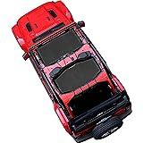 Shadeidea SunShade for Jeep Wrangler JL Unlimited (2018-Current) 4 Door Front & Rear 2 piece-Black Mesh Screen Sun shade JLU