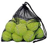 Qtop 硬式テニスボール 12球入り プレッシャーレス 趣味テニス・練習・ペットと遊び用 収納バッグ付き