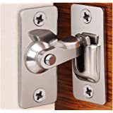 90 Degree Right Angle Door Lock Buckle Lock Bolt Lock cam Lock for Door and Window Sliding Lock bar Bolt barn Sliding Door Lo