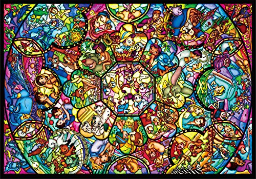 4000ピース ジグソーパズル ディズニー オールスターステンドグラス(102x146cm)の詳細を見る