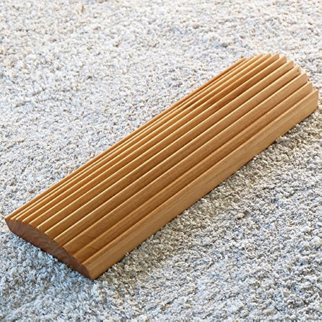 私ほうき三ISSEIKI 足踏み アルダー材 幅40cm FIT ASIFUMI 40 (NA) フットケア 木製 おしゃれ プレゼント 指圧代用 FIT ASIFUMI 40 (AL-NA)