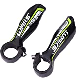 1Pair Road Mountain Bicycle Handlebar Horns On Bike Handlebar Bar Ends Aluminum Bike Handlebar Cover Handle Cycling Accessori