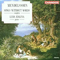 Mendelssohn:Songs Without Word