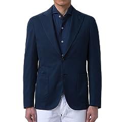 Bower Stretch Cotton Silk: Navy