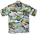 アロハシャツ メンズ TORI RICHARD ビンテージデザイン/BOAT DAY ALOHA (US Mサイズ)