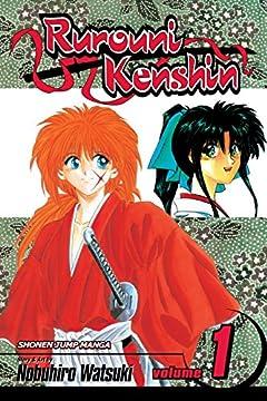 Rurouni Kenshin, Vol. 1: Meiji Swordsman Romantic Storyの書影