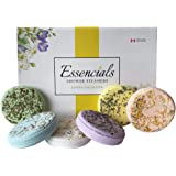 Essencials Shower Steamers Bombs Melts Aromatherapy Tablets – Mom/Mothers Day/Birthday Gift Set of 6 Essential Oil for Women