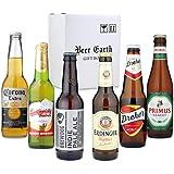 世界のビール6本 飲み比べ ギフトセット 【ブリュードッグ エルディンガー コロナ ドレハー】 専用ギフトボックスでお届け