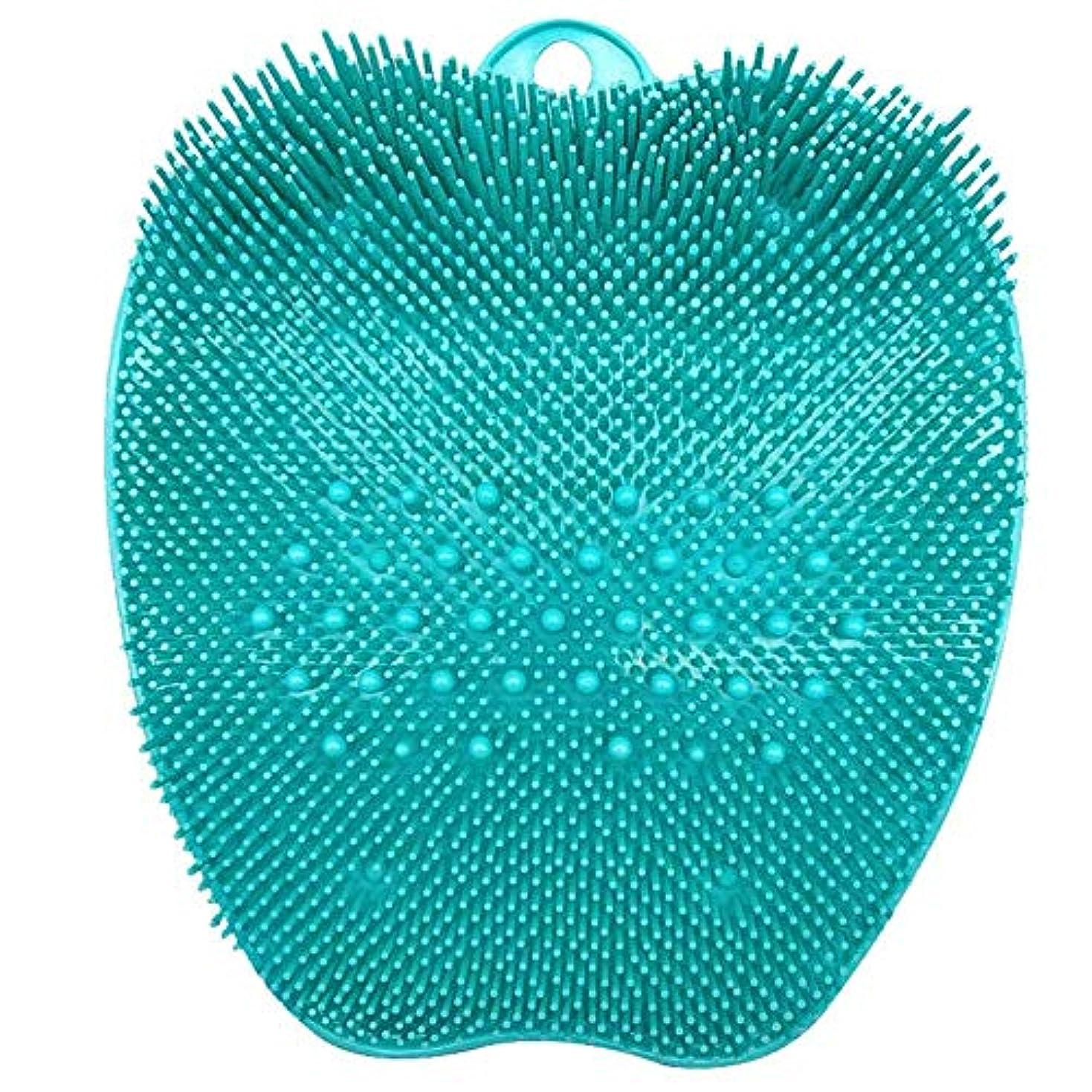 リフレッシュライオン規定CatChi フットブラシ 足洗いマット 汚れ除去 足裏マッサージ 角質ケアブラシ ストレス解消 お風呂用