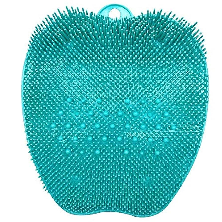 長方形引き受ける適切にBULemonフットスクラブマッサージクッション入浴フットブラシ深い角質除去SPAシリコンフットクリーニングマッサージクッションフットマッサージクッション