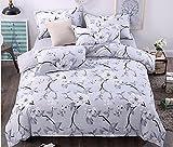 (ファレモール)BRL MALL 布団カバーセット 4点セット 洗える 綿 プリント 花柄 掛け布団カバー しきふ 二つの枕カバー 4000円ー5500円