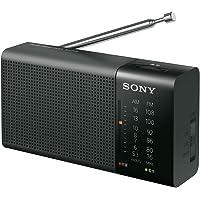 ソニー ハンディーポータブルラジオ ICF-P36 : FM/AM/ワイドFM対応 横置き型 ブラック ICF-P36…